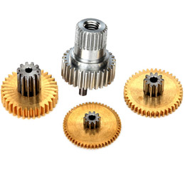 Gear set, metal (for 2080X micro waterproof servo)