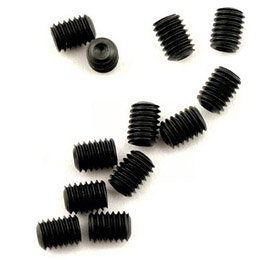 Set (grub) screws, 3mm hardened (12) - TRA2743